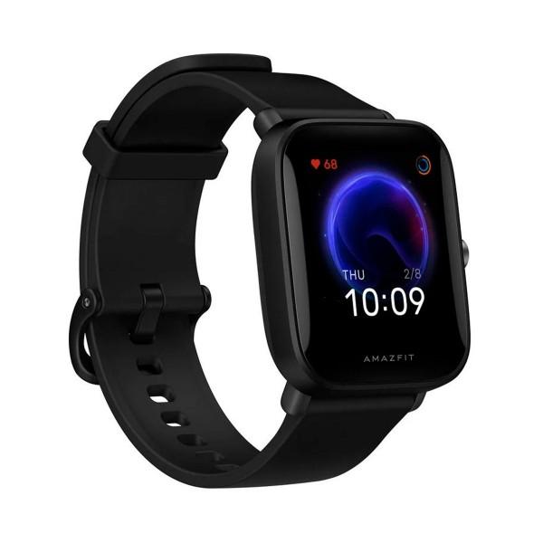 Xiaomi amazfit bip u negro smartwatch 1.43'' táctil gps glonass bluetooth pulsómetro notificaciones inteligentes